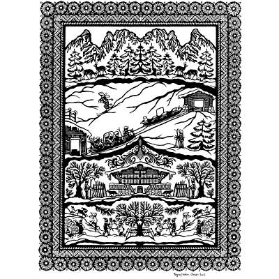Papercutting – a tradition